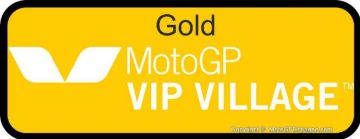 Billet GOLD MotoGP VIP VILLAGE™ Valence